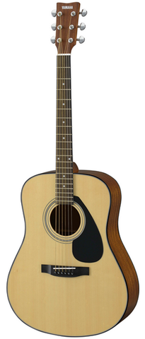 Yamaha F325D Dreadnaught Acoustic, Natural