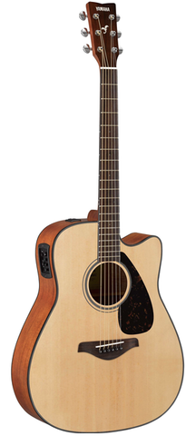 *Yamaha FGX800C Dreadnaught Acoustic-Electric, Natural