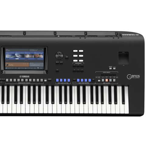 Yamaha Genos Workstation Keyboard : yamaha genos 76 key digital arranger workstation keyboard reid music limited ~ Vivirlamusica.com Haus und Dekorationen