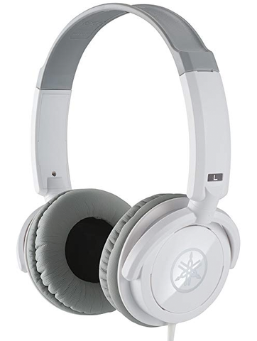 Yamaha HPH-100 Closed-Back Headphones, White