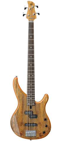 Yamaha TRBX174EW NT Figured Mango Wood Electric Bass Guitar Natural Translucent