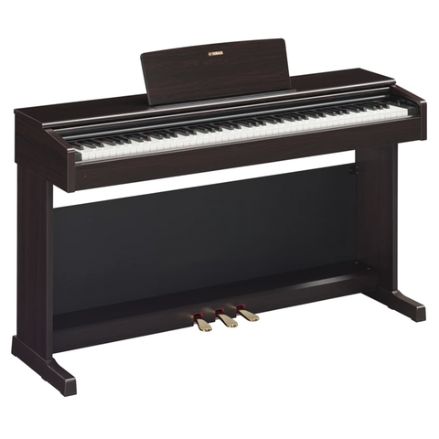 Yamaha Arius YDP-144B 88-Key Digital Piano With Bench, Black