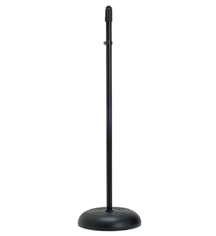 Microphone - Yorkville MS-603B Cast Round Base Stand - Black