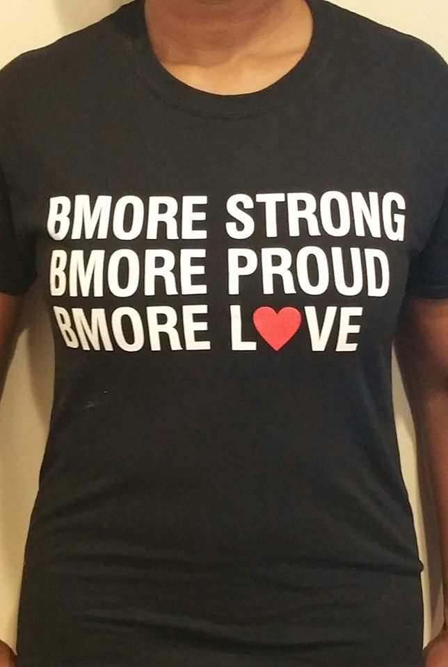 Bmore Love Short Sleeve Tee Shirt