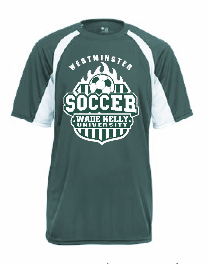 Soccer Jersey--Forest Green