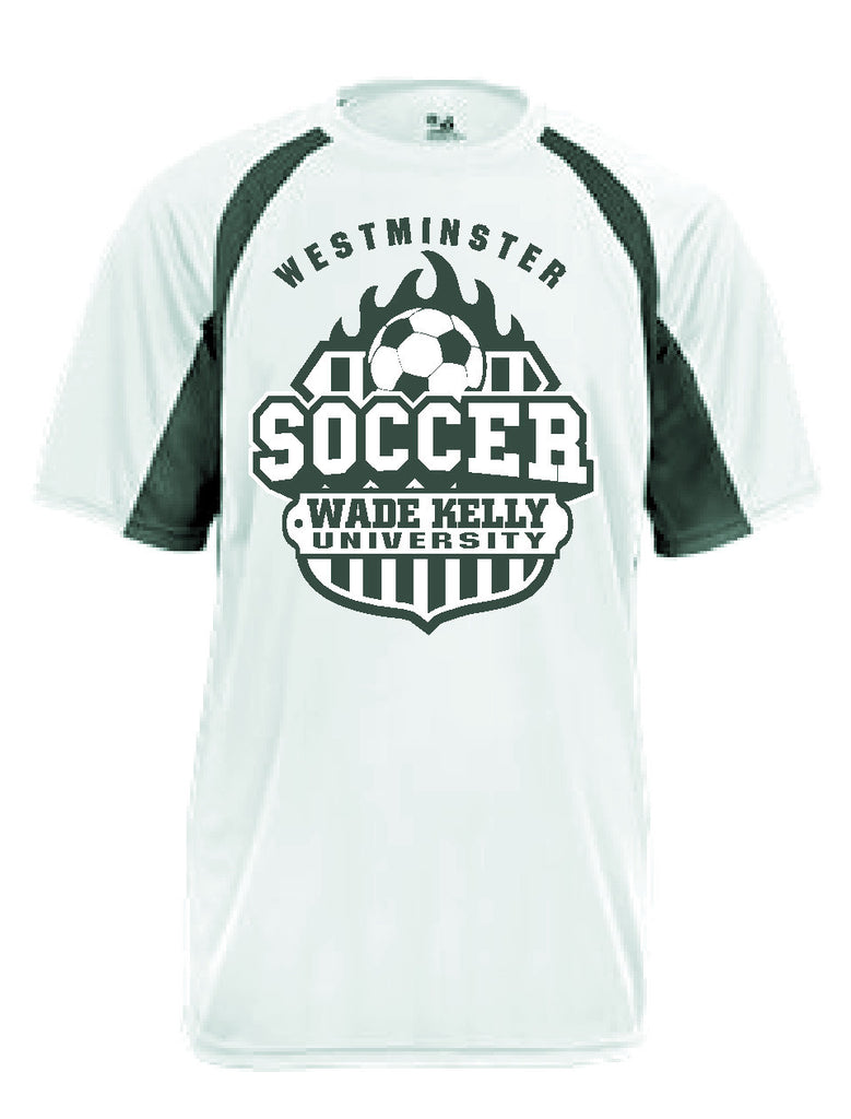 Soccer Jersey--White