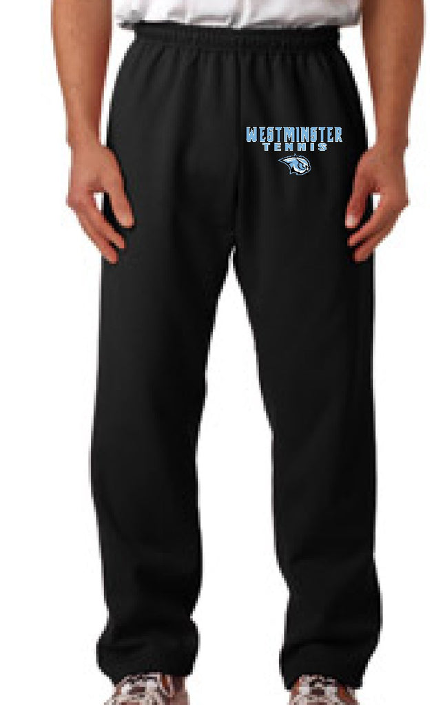 Men's Open Bottom Sweat Pants
