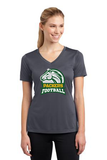 Football Womens Moisture Wicking Tee