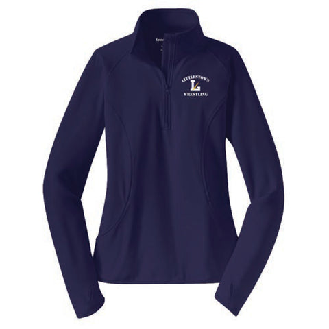 Lady's 1/4 Zip Fleece