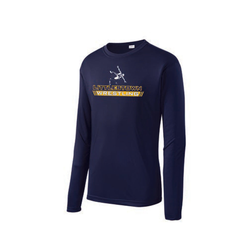 Youth Performance Long Sleeve Tee Shirt