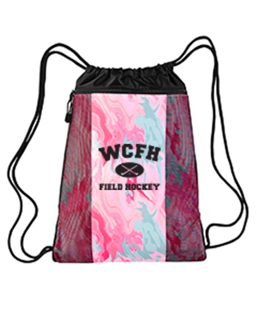 Tie-Dyed Cinch Bag