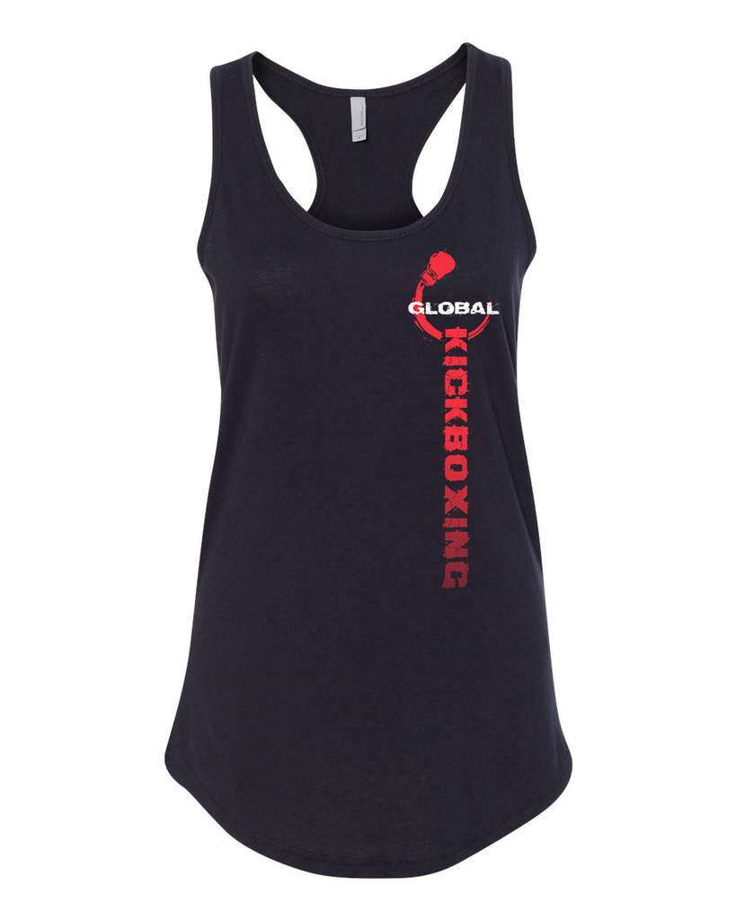 Global Kickfit Ladies Racer-back Tank Top