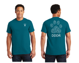 Gildan® - Ultra Cotton® 100% Cotton --Paw Print--Short Sleeve T-Shirt