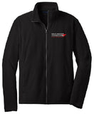 Port Authority Black Full Zip Up Fleece Jacket