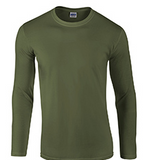 Gildan Adult Softstyle® 4.5 oz. Long-Sleeve T-Shirt (No Sleeve Print)