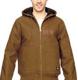 TJ718 Dickies 10 oz. Hooded Duck Jacket