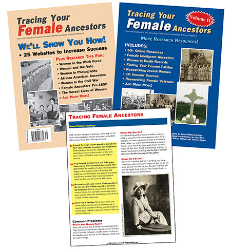 Tracing Your Female Ancestors Bundle