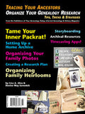Organize Your Genealogy Research - $8.50 for PDF & $9.95 for Print Edition