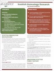Quick Sheet: Scottish Genealogy Research