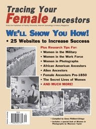 Tracing Your Female Ancestors - Available in Print and PDF Format
