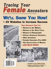 Tracing Your Female Ancestors - $8.50 for PDF & $9.95 for Print Edition