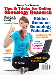 Tips & Tricks for Online Genealogy Research - $8.50 for PDF & $9.95 for Print Edition
