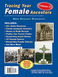 Tracing Your Female Ancestors Volume II - Available in Print and PDF Format