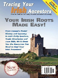 Tracing Your Irish Ancestors - $8.50 for PDF & $9.95 for Print Edition