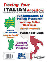 Tracing Your Italian Ancestors - $8.50 for PDF & $9.95 for Print Edition