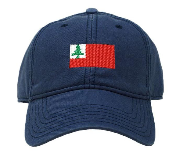 New England Flag on Navy Hat