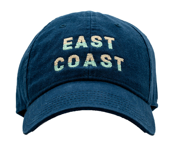 East Coast on Navy Hat