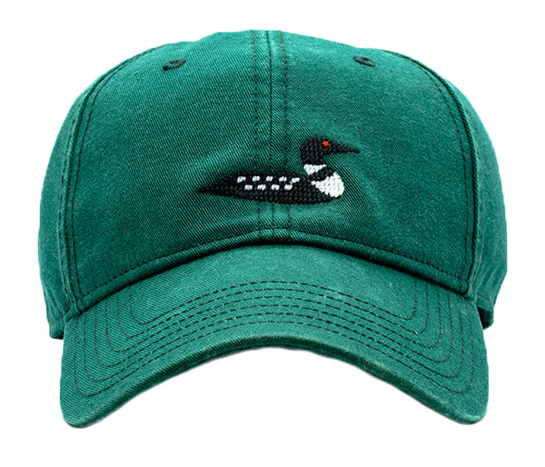 Loon on Tee Green Hat