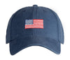 American Flag on Navy Hat