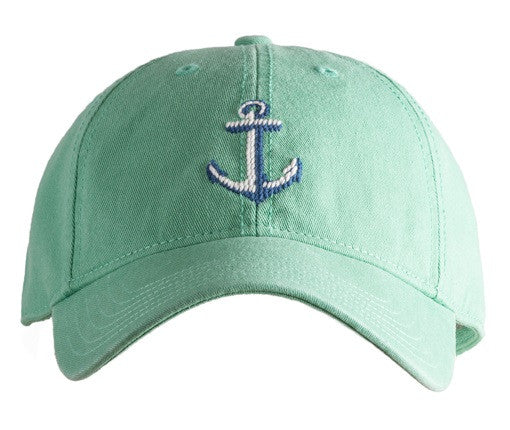 Anchor on Mint Hat