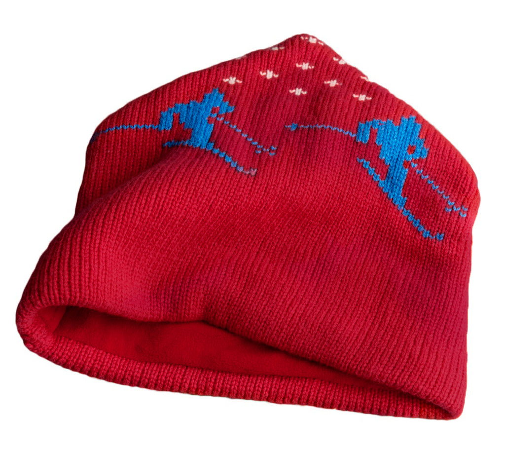 Après Ski Wool Cap in Red (Excluded From Sale)