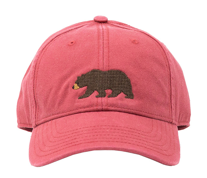 Bear on Weathered Red Hat
