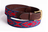 Caballo on Navy Belt