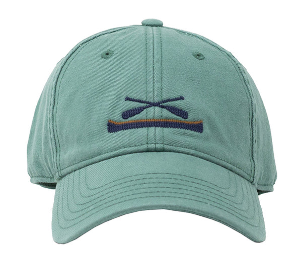 Canoe on Moss Green Hat
