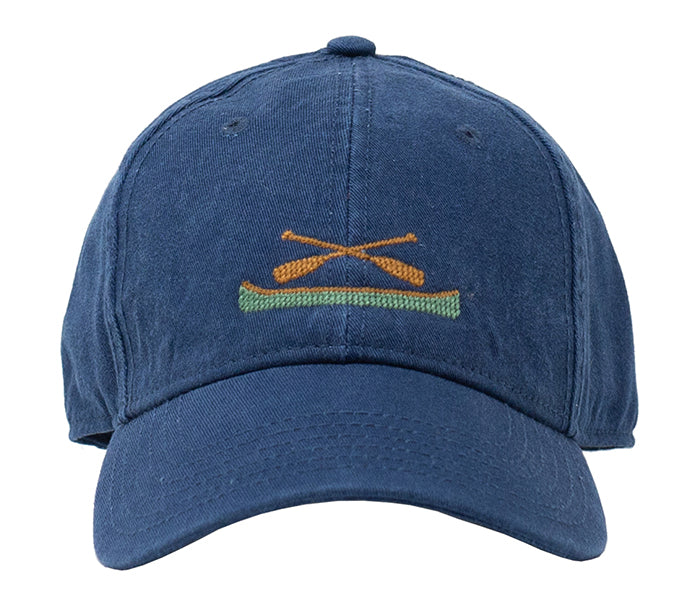 Canoe on Navy Hat
