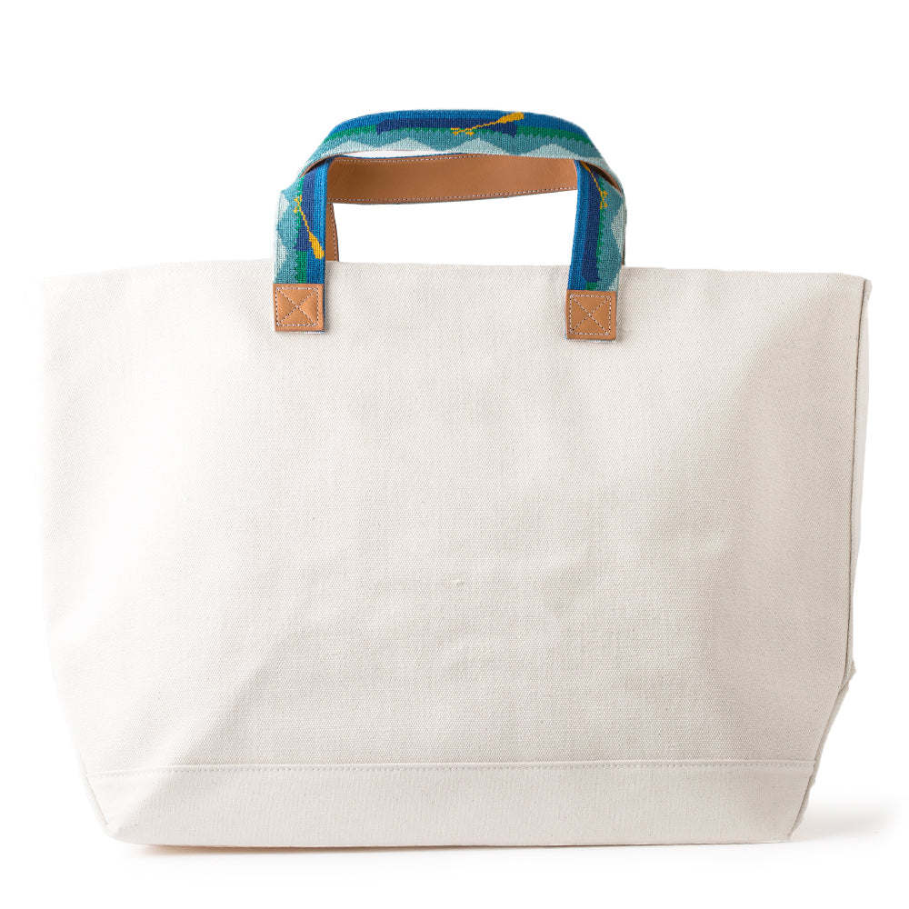 Mountains & Canoes Tote