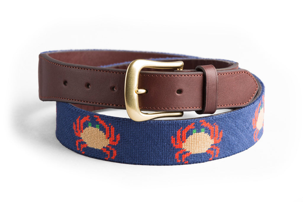 Crab on Deep Blue Belt