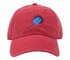 Horseshoe Crab on Weathered Red Hat