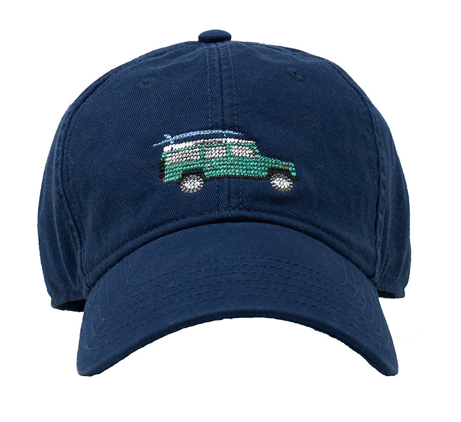 Defender on Navy hat