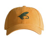 Fly on Deep Orange Hat