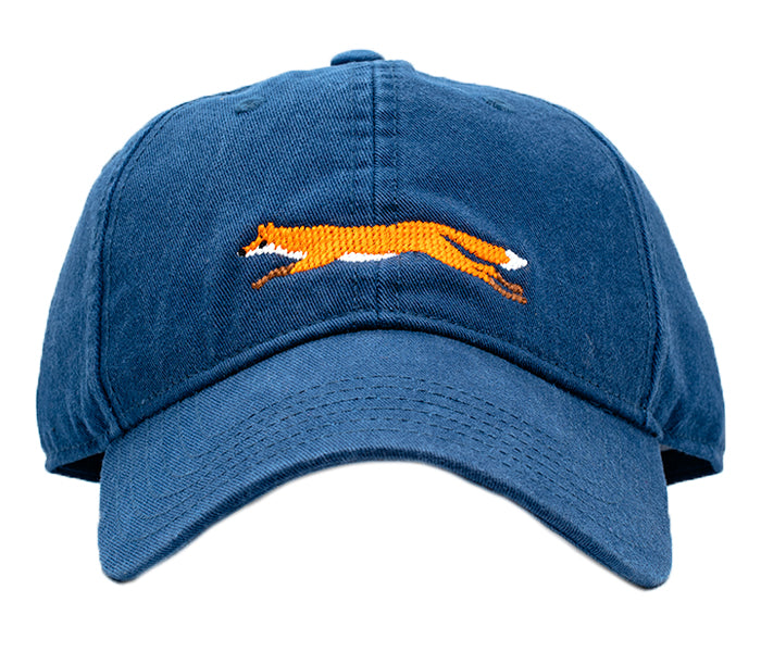 Fox on Navy Hat