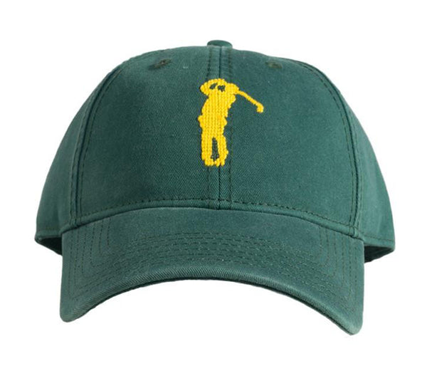 Golf on Tee Green Hat