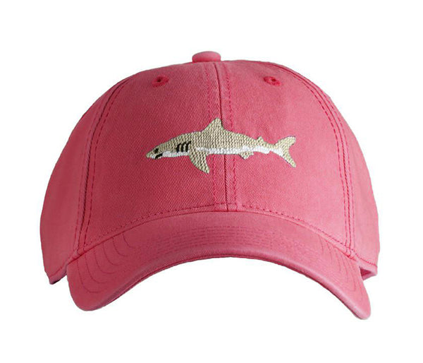 Great White Shark on Weathered Red Hat