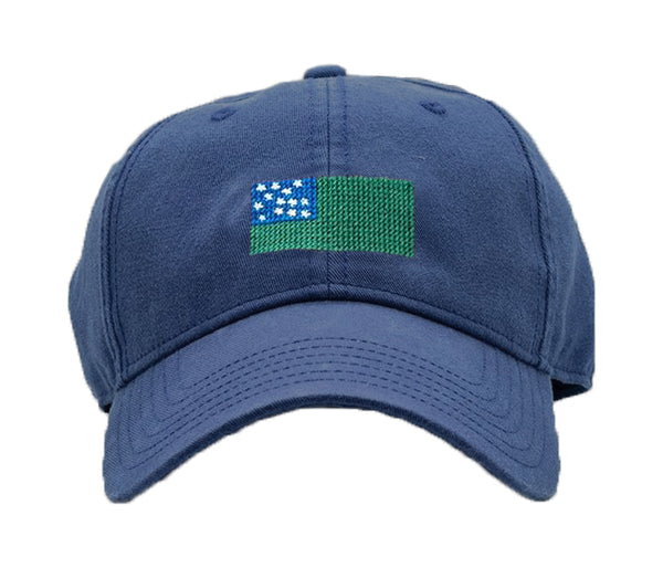 Green Mountain Boys on Navy Hat