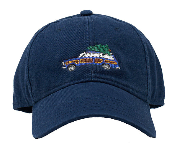 Holiday Wagoneer Blue on Navy Hat