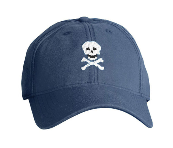 Skull & Bones on Navy Hat
